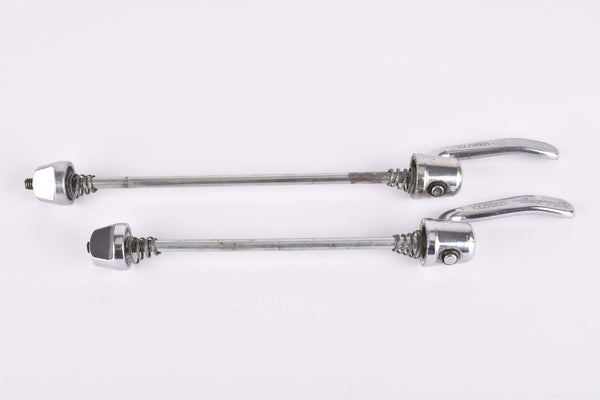 Campagnolo quick release set, front and rear Skewer from the 1980s