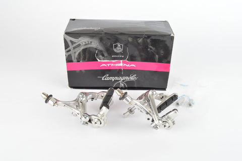 NEW Campagnolo Athena #BR11-AT Skeleton Brake Calipers Silver