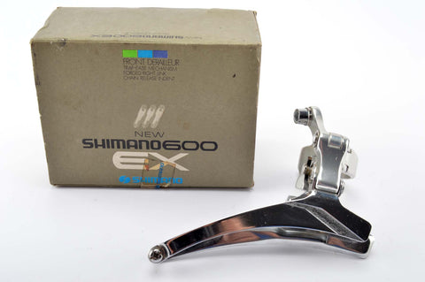 NEW Shimano 600EX #FD-6207 clamp-on front derailleur from 1984-87 NOS/NIB