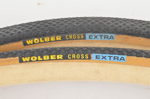 NEW Wolber Cross Extra Tubular Tires 700c x 27mm from the 1980s NOS