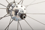 "26"" Wheelset with Rigida DP18 clincher rims and Ambrosio Narrow Section hubs from 1990s"