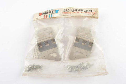NEW Barelli 280 nail-on shoe plates from the 1970s NOS/NIB