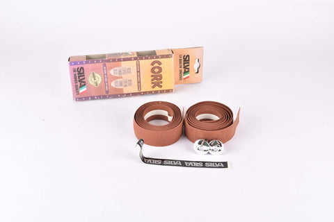 NOS Silva Cork handlebar tape in brown from the 1990s