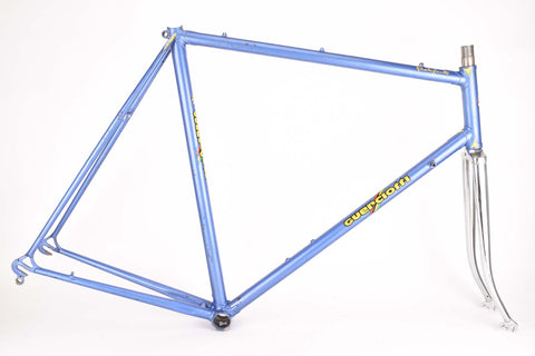 Guerciotti frame in 60 cm (c-t) 58.5 cm (c-c) with Campagnolo dropouts