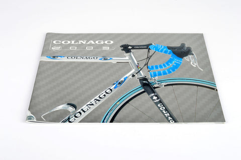 NEW Colnago Catalog 2003 with C40 B-Stay HP / Carbon | Oval Master | Dream B-Stay