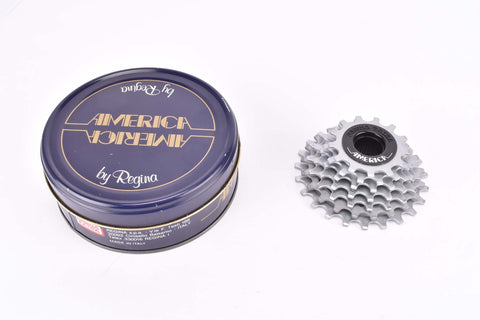NOS/NIB Regina America S (Regina Extra) 7-speed Freewheel with 13-23 teeth and I.S.O thread from 1980s - 1990s