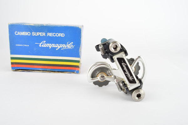 NOS/NIB Campagnolo #4001 Super Record rear derailleur (2nd gen, version 2) from the 1980s