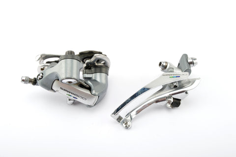 Shimano 600 Ultegra Tricolor #6400 #6401 front + rear derailleur set from 1990/93