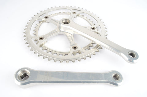 Campagnolo Super Record #1049/A (no flute arm / etched logo) Crankset with 42/53 teeth and 170mm length from 1986