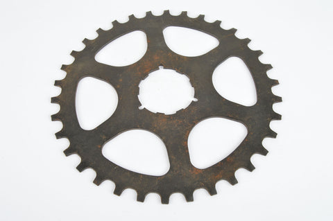 NOS Shimano Uniglide Sprocket with 34 teeth from the 1970s - 80s