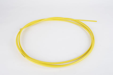 Jagwire brake cable housing / size 5.0 x 2500 mm in yellow
