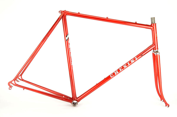 Red Chesini frame  in 59.5 cm (c-t) / 58 cm (c-c)