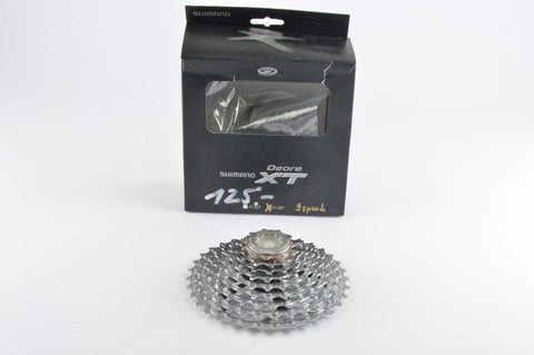 NEW Shimano Deore XT #CS-M770 9-speed cassette 11-34 teeth from 2010 NOS/NIB