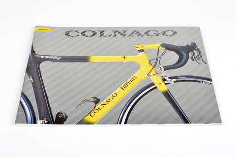 NEW Colnago Catalog 2002 with CF3 Ferrari | C40 B-Stay HP / Carbon | Oval Master | Dream B-Stay