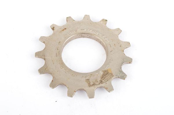 NEW Sachs Maillard #LY steel Freewheel Cog / threaded with 15 teeth from the 1980s - 90s NOS