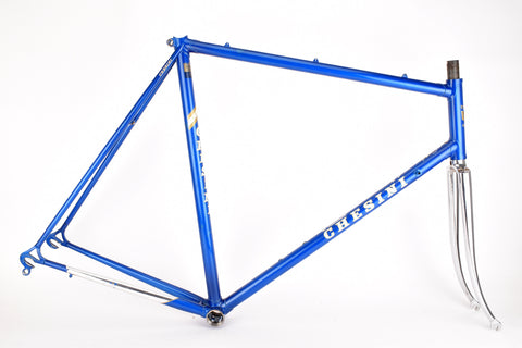 Chesini Criterium frame  in 59.5 cm (c-t) / 58 cm (c-c), with precision carbon steel tubes (0.9mm)