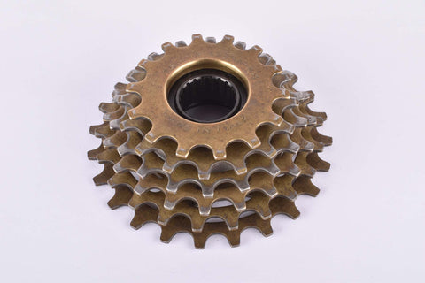Regina Extra-BX Oro-BX 6-speed Freewheel with 14-24 teeth and english thread from 1986