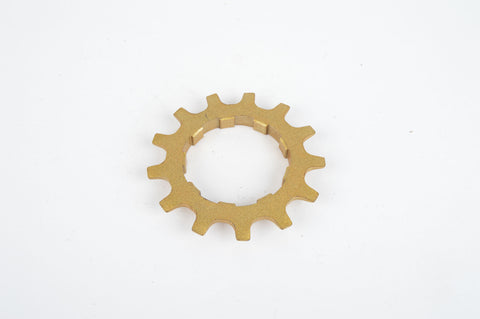 NOS Golden Shimano Dura Ace 6 speed Uniglide Sprocket with 13 teeth