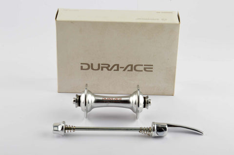 NEW Shimano Dura-Ace #HB-7700 Front Hub incl. skewers from 1997 NOS/NIB