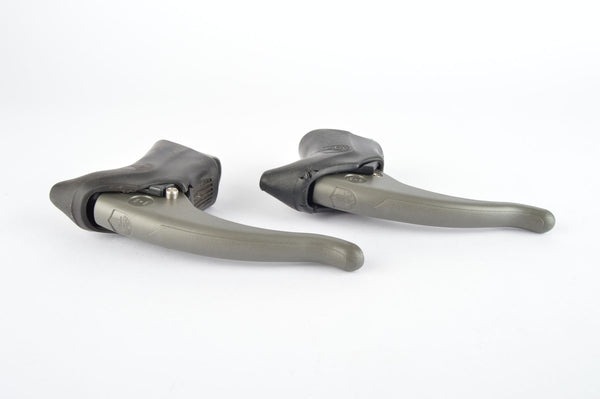 Campagnolo Xenon brake lever set with black hoods from the 1990s