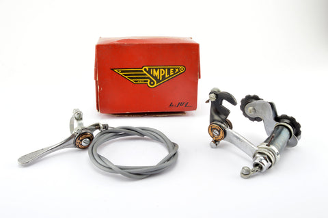 NEW Simplex Tour de France 5-speed shifting set from the 1950s NOS NIB