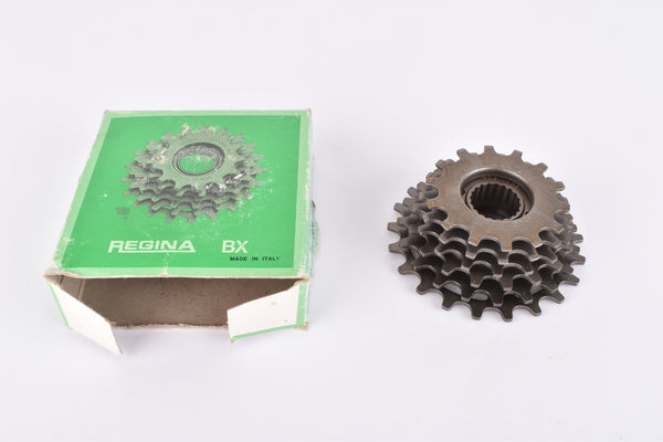 NOS/NIB Regina Extra 6-speed Freewheel with 14-21 teeth and BSA/ISO threading from the 1980s