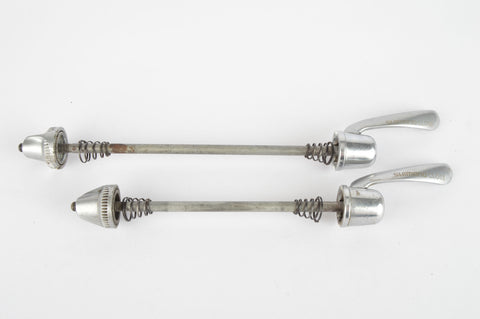 Shimano 600 Tricolore/Ultegra quick release set, front and rear Skewer from the 1980s -90s