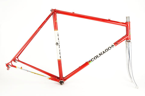 Colnago Super frame in 56 cm (c-t) / 54.5 cm (c-c) with Columbus tubes