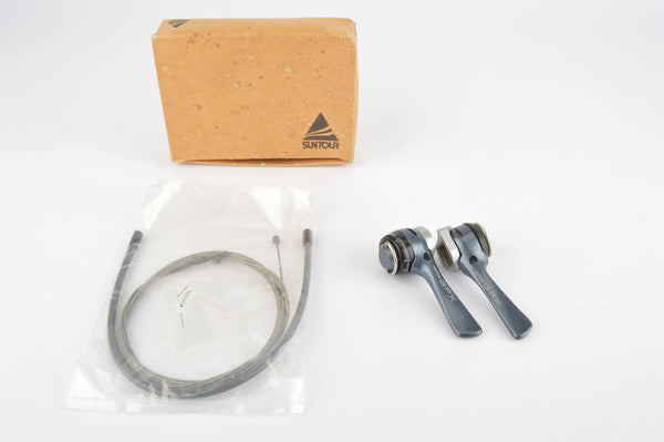 NOS/NIB Suntour GPX #SL-GP00-B Braze-on Gear Shift Lever Set from the late 1980s