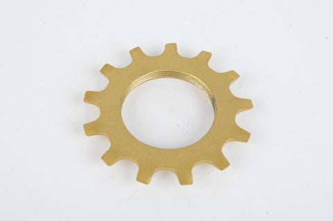 NOS Golden Shimano Dura Ace 6 speed Uniglide Top Sprocket with 13 teeth