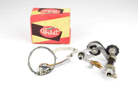 NEW Huret Tour de France 5-speed shifting set from the 1950s NOS NIB