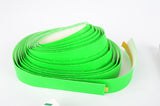 NEW 3ttt neon-green handlebar tape with silver end plugs from the 1990s NOS/NIB