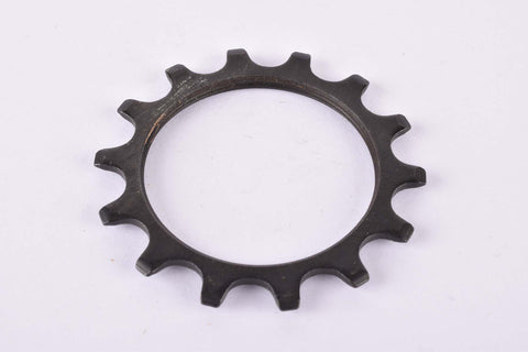 NOS Maillard black steel Freewheel Cog threaded on inside with 14 teeth from the 1980s