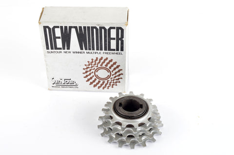 NEW Suntour New Winner 5-speed Freewheel with 13-17 teeth from the 1980s NOS