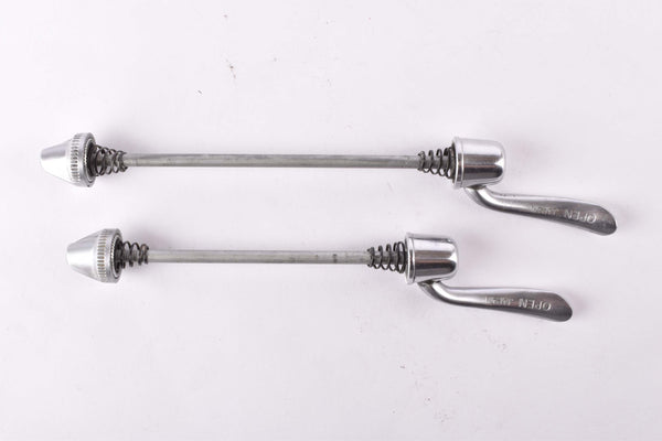 Shimano 600 Ultegra #6400 quick release Skewer set, front and rear Skewer from the 1990s