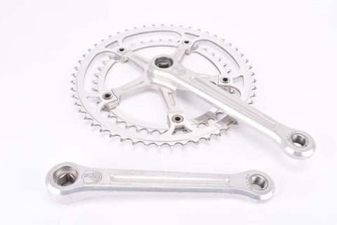 Campagnolo Nuovo Record #1049 Crankset Strada only with 53/41 Teeth and 172.5mm length from the late 1960s - 1970s