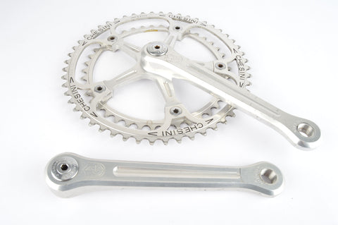 Campagnolo Super Record #1049/A panto Chesini Crankset with 42/52 teeth and 170mm length from 1979