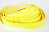 NEW 3ttt neon-yellow handlebar tape with silver end plugs from the 1980s NOS/NIB