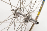 Wheelset with Mavic Reflex SUP clincher rims and Sachs New Succes hubs from the 1980s - 90s