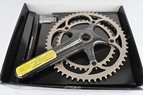 NEW Campagnolo #FC7-RE093C Record Carbon crankset 170mm 39/53 teeth