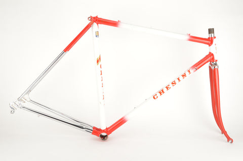 Chesini Olimpiade frame  in 53.5 cm (c-t) / 52 cm (c-c), with Columbus tubing