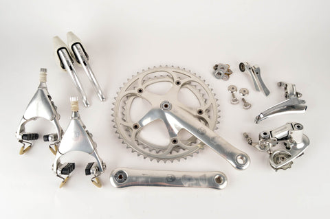 Campagnolo Croce d' Aune group set with Delta Brakes from the 1980s