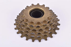 Regina Extra Oro-BX 6-speed Freewheel with 14-24 teeth and english thread from 1986