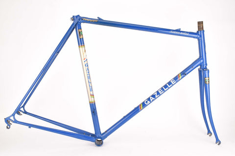 Gazelle Champion Mondial AA-Special frame in 59 cm (c-t) 57.5 cm (c-c) with Reynolds 531 tubing