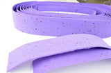 NEW 3ttt cork purple handlebar tape with silver end plugs from the 1980s NOS/NIB