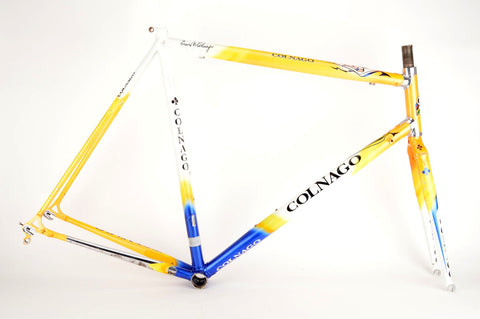 Colnago Crystal frame in 60 cm (c-t) / 56 cm (c-c), with Columbus Thron tubing