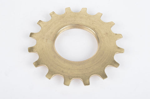 NOS Golden Shimano Dura Ace 6 speed Uniglide Top Sprocket with 16 teeth