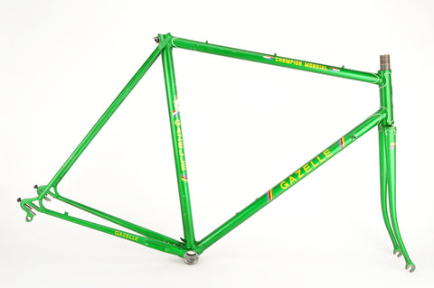 Gazelle Champion Mondial frame in 57 cm (c-t) / 55.5 cm (c-c) with Reynolds 531 tubes