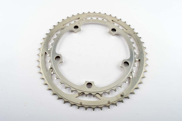 Campagnolo Chorus chainrings in 42/53 teeth and 135 BCD from the 1990s
