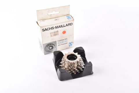 "NOS Sachs-Maillard 700 Compact ""Super"" 7 speed Freewheel with 12-18 teeth and english thread NIB"